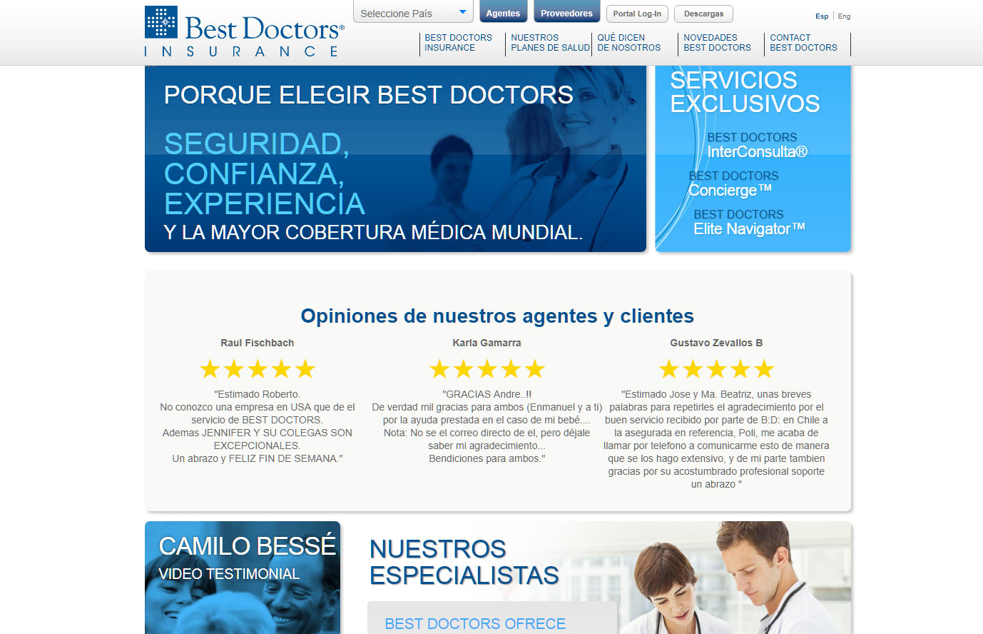 Best Doctors captura de pantalla