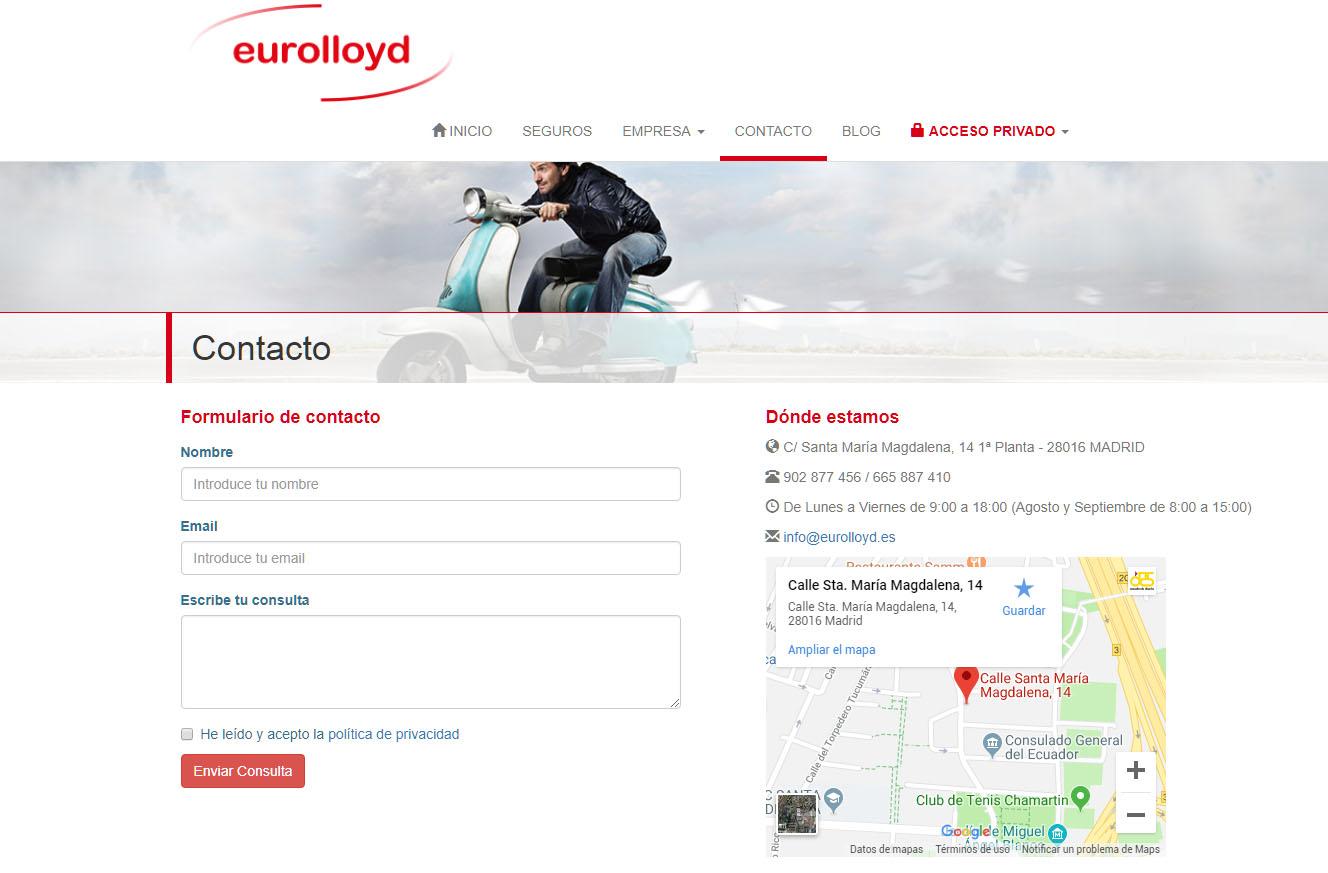 eurolloyd contacto captura