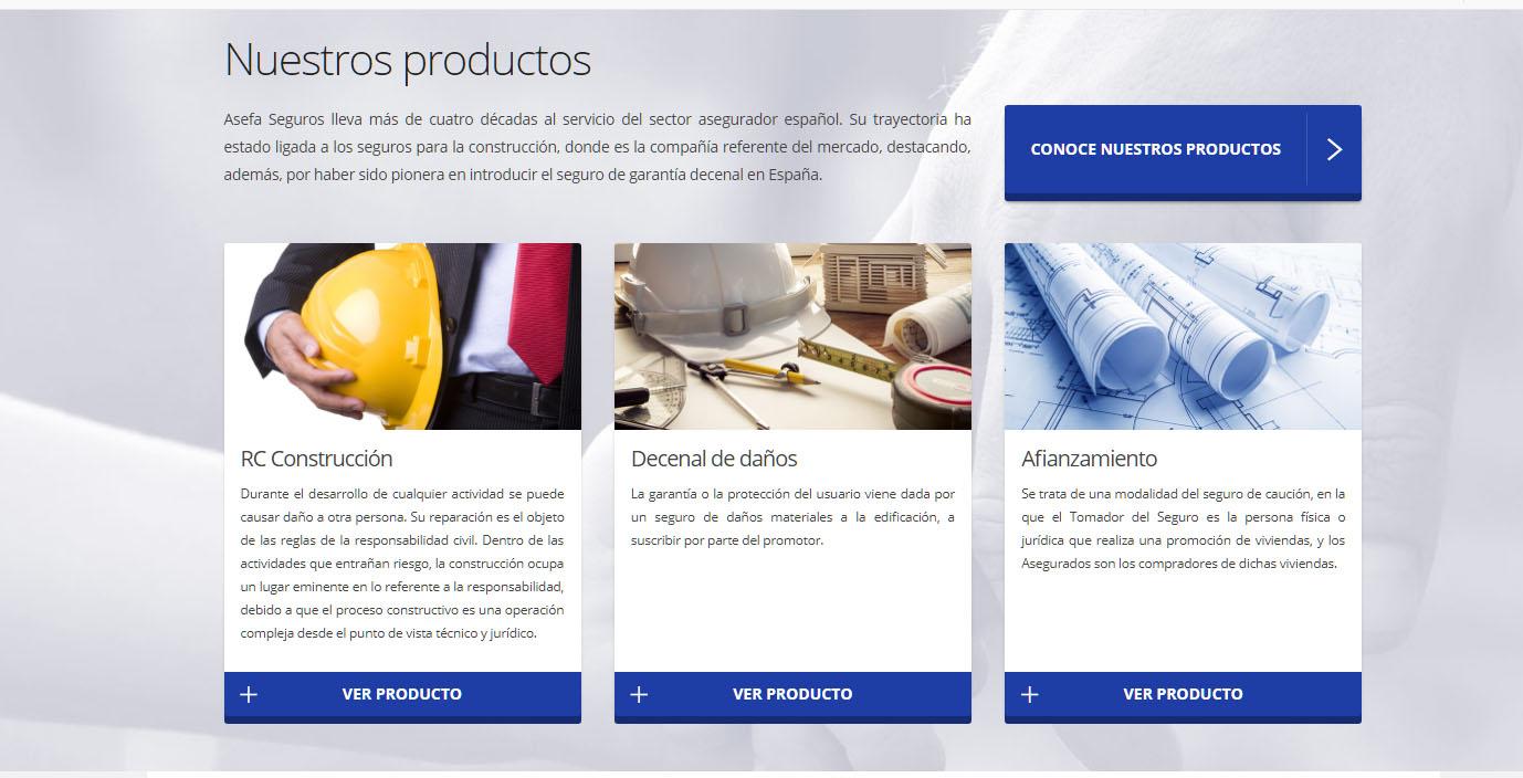 productos asefa