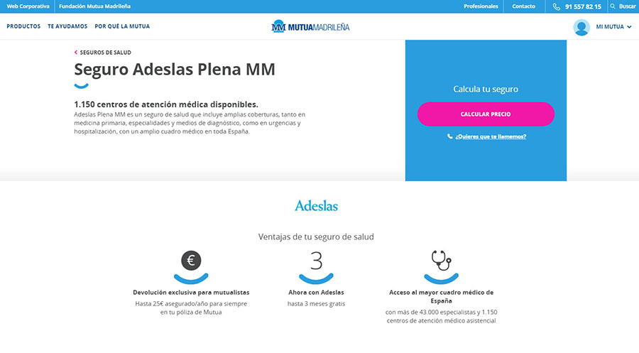 adeslas plena mm seguros