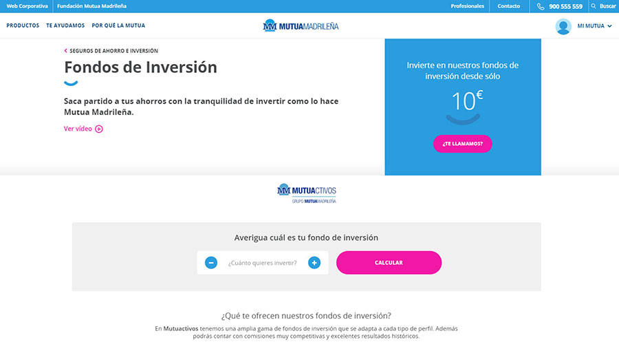 mutuactivos fondos de inversion
