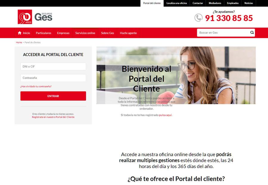 portal ges seguros para clientes