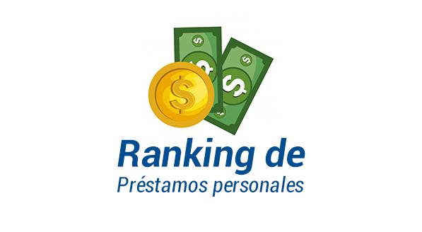 ranking de prestamos personales 2020 - 2021